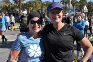 KMac & JMart Save the Light Half Marathon 2013 Folly Beach, SC