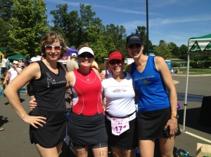 Another Mother Runner Crew! Sarah, Jennifer, Jill, Dimity