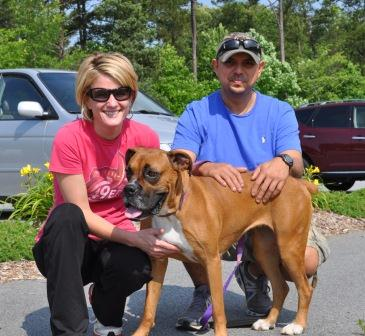 Allee's adoption day May 2012