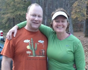 My running widower Dan!  He is awesome!  Thanks Dan!