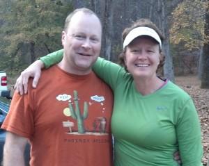 My running widower Dan!  He is awesome!  Thanks Dan!