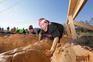 Mama Bean loving Mud Mile!