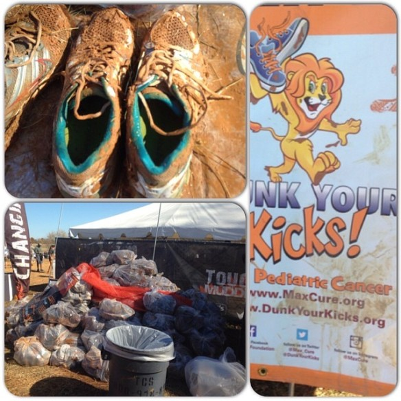 @Dunkyourkicks for pediatric cancer!  Great cause!