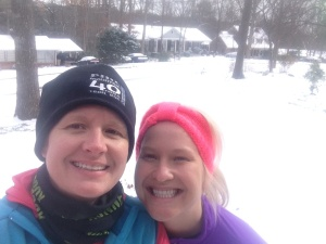 Headed out for SNOW run!