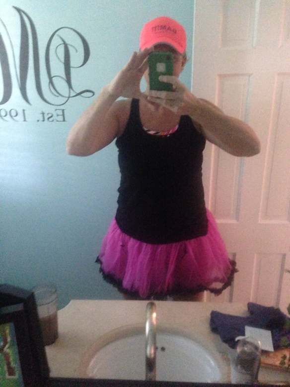 Tough girl tutu