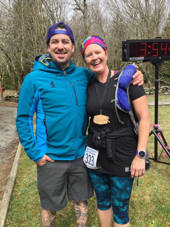 I met Jason Green, RD and founder of Yeti Trail Runners, at Grayson Highlands Half/50K. What a genuine guy who greeted me with a bear hug and encouraging words for my first 100 miler!